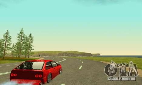 VAZ 2108 Aarr estilo para GTA San Andreas vista traseira
