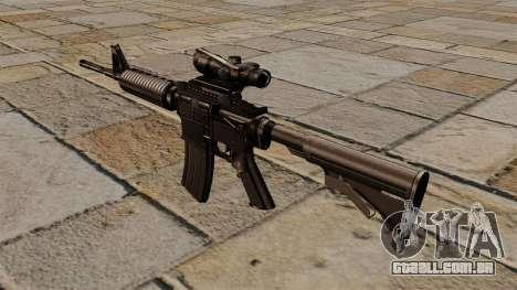 Carabina automática M4A1 ACOG para GTA 4 segundo screenshot