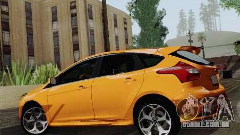 Ford Focus ST 2013 para GTA San Andreas vista direita