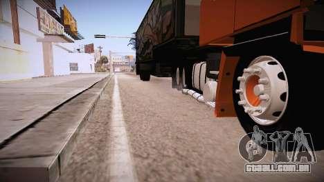Scania LK 141 6x2 para GTA San Andreas vista direita