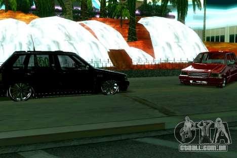 Fiat Uno 2010 Clase 4 para GTA San Andreas esquerda vista