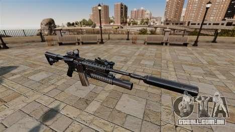 Carabina automática M4A1 SOPMOD para GTA 4