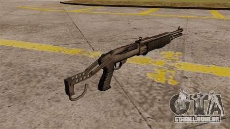 Franchi SPAS-12 shotgun Armageddon para GTA 4 segundo screenshot