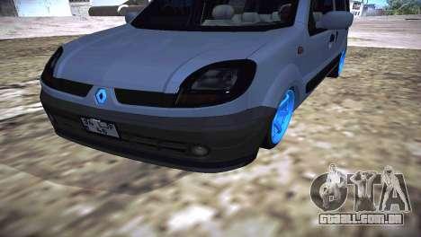 Renault Kangoo 2005 v1.0 TMC para GTA San Andreas vista direita