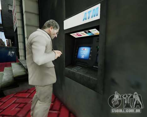 Conta em um caixa eletrônico para GTA 4
