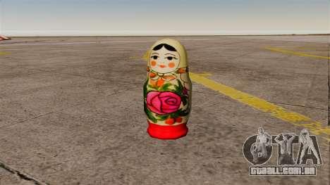 Boneca russa de romã para GTA 4