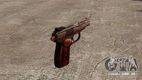 Pistola autocarregável Makarova para GTA 4 segundo screenshot