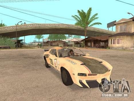 AMC Javelin AMX para GTA San Andreas vista direita