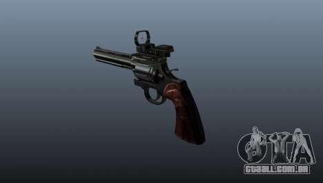 Revólver Colt Python. 357 Aimshot para GTA 4 segundo screenshot