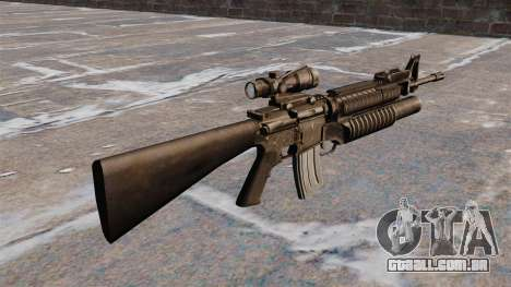 O fuzil M16A4 para GTA 4 segundo screenshot