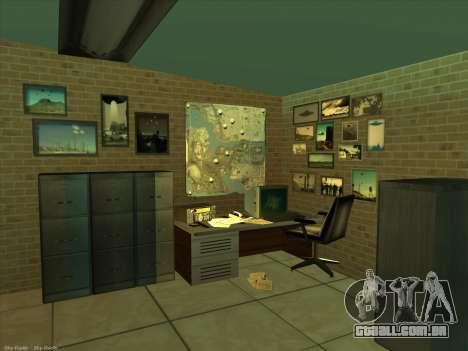 Novas texturas para interior para GTA San Andreas quinto tela