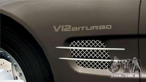 Mercedes-Benz SL65 2007 para GTA 4 vista direita