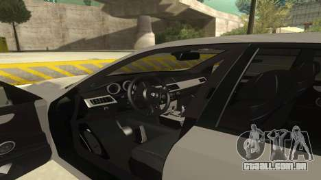 BMW M5 E60 para GTA San Andreas vista interior