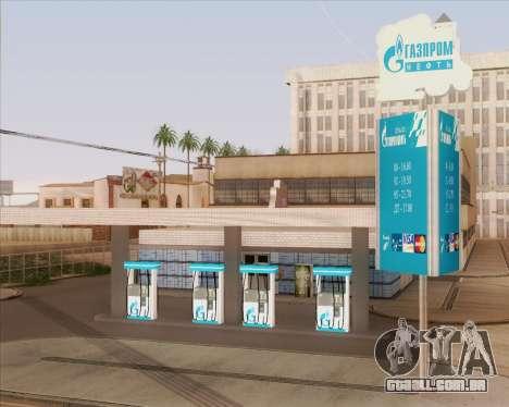 AZS Gazprom Neft para GTA San Andreas