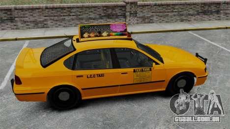 Real publicidade em táxis e autocarros para GTA 4 sexto tela