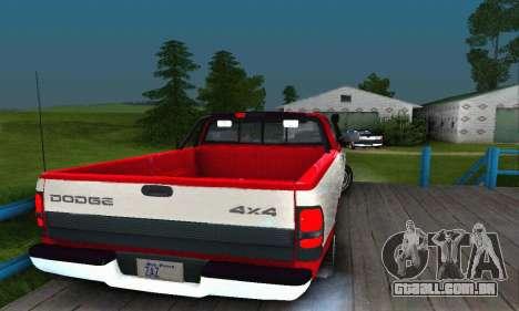 Dodge Ram 2500 para GTA San Andreas esquerda vista