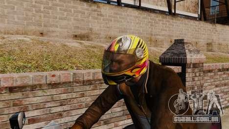Uma coleção de capacetes Arai v1 para GTA 4