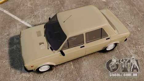 Zastava Yugo 128 para GTA 4 vista direita