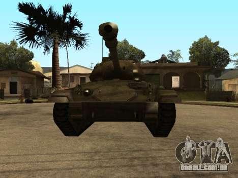 M24-Chaffee para GTA San Andreas esquerda vista