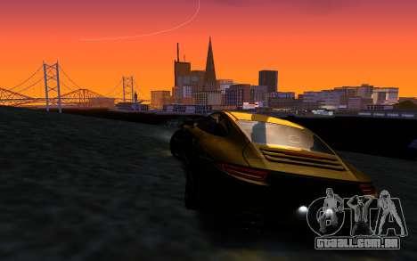 ENBSeries v3 para GTA San Andreas sexta tela