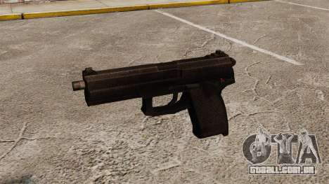 H & K MK23 Socom pistola semi-automática para GTA 4 terceira tela