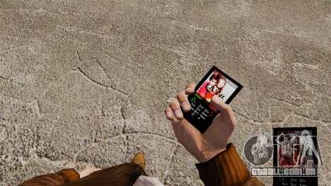 O tema para o telefone t. u. t. a. para GTA 4