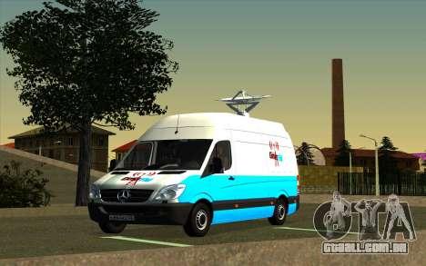 Mercedes Sprinter Entire FM para GTA San Andreas