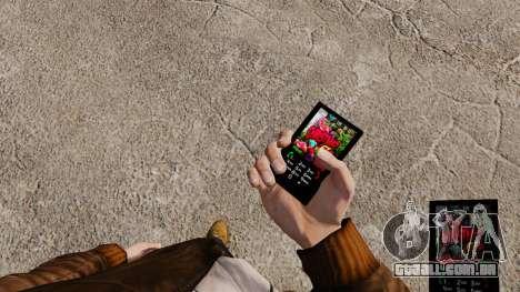 Tema de Natal para o seu telefone para GTA 4