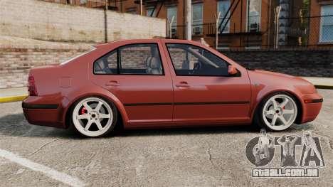 Volkswagen Bora VR6 2003 para GTA 4 esquerda vista