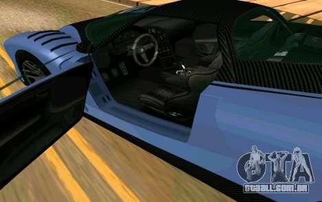 A chita de GTA 5 para GTA San Andreas traseira esquerda vista