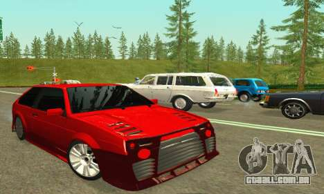 VAZ 2108 Aarr estilo para GTA San Andreas
