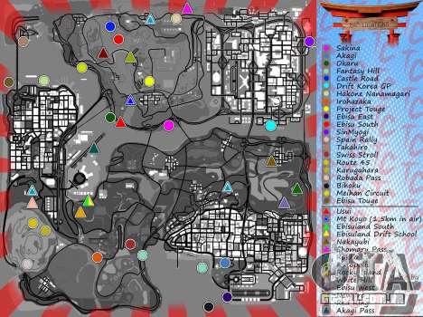 Mappack v1.3 by Naka para GTA San Andreas quinto tela