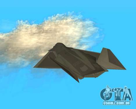 FA-37 Talon para GTA San Andreas vista interior