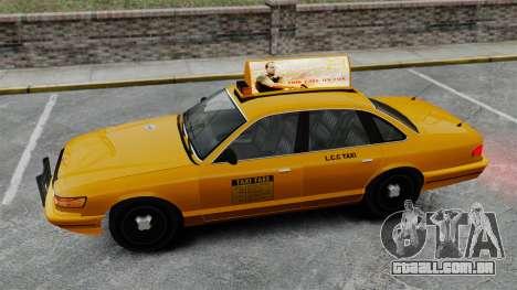 Real publicidade em táxis e autocarros para GTA 4 twelth tela