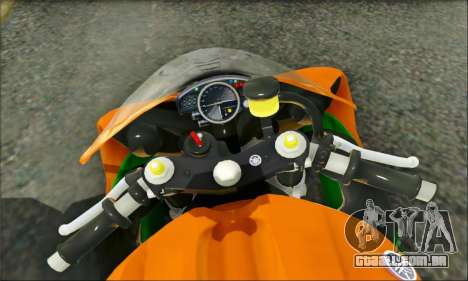 Yamaha R15 para GTA San Andreas vista direita