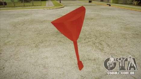 Balalaica para GTA San Andreas segunda tela