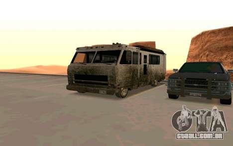 Jornada de GTA 5 para GTA San Andreas
