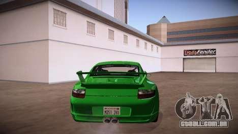 Porsche 911 TT Ultimate Edition para GTA San Andreas traseira esquerda vista