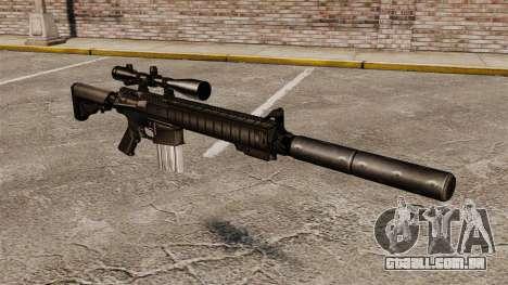 O rifle sniper SR-25 para GTA 4