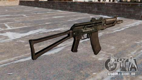 AKS74U automático preto para GTA 4 segundo screenshot