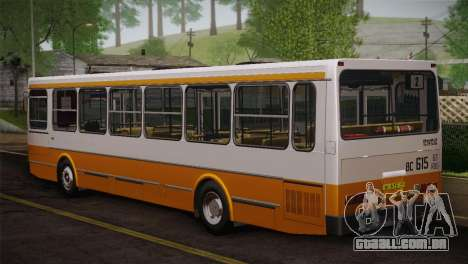 LIAZ 5256.00 pele 3-Pack para GTA San Andreas vista inferior