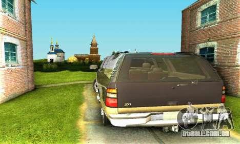 GMC Yukon XL 2003 para GTA San Andreas vista direita