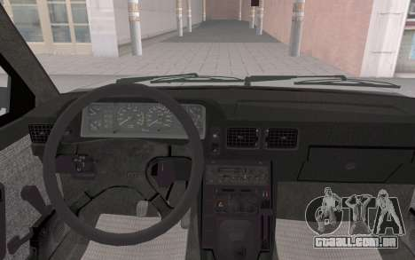 FSO Polonez Atu Orciari 1.4 GLI 16V para GTA San Andreas vista traseira