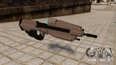 O rifle de assalto do Halo para GTA 4