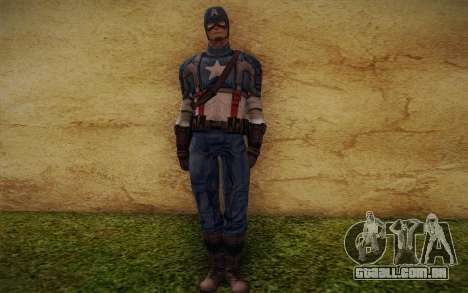 Captain America: First Avenger para GTA San Andreas