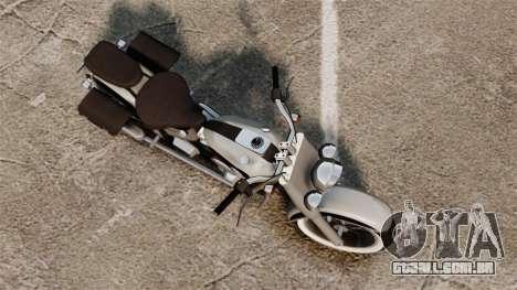 Custom Bobber v1 para GTA 4 traseira esquerda vista