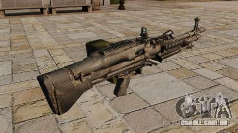 Metralhadora M60 propósito geral para GTA 4 segundo screenshot