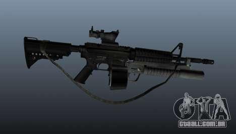 M4 automático C-Mag para GTA 4 terceira tela