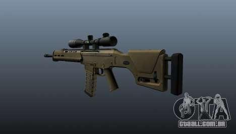 Espingarda automática Magpul Masada para GTA 4 segundo screenshot