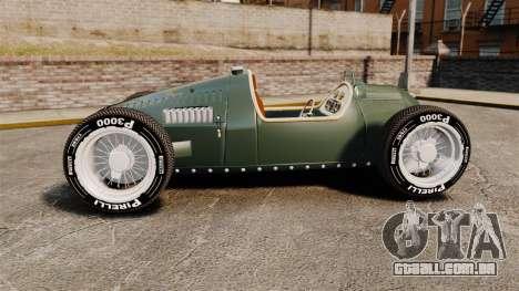 Auto Union Type C 1936 para GTA 4 esquerda vista